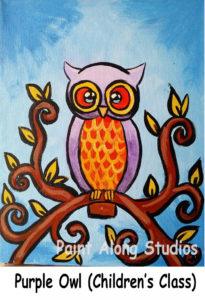 kidspurple_owl