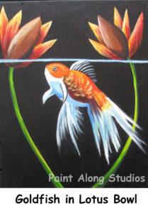 silvergoldfish_in_lotus_bowl