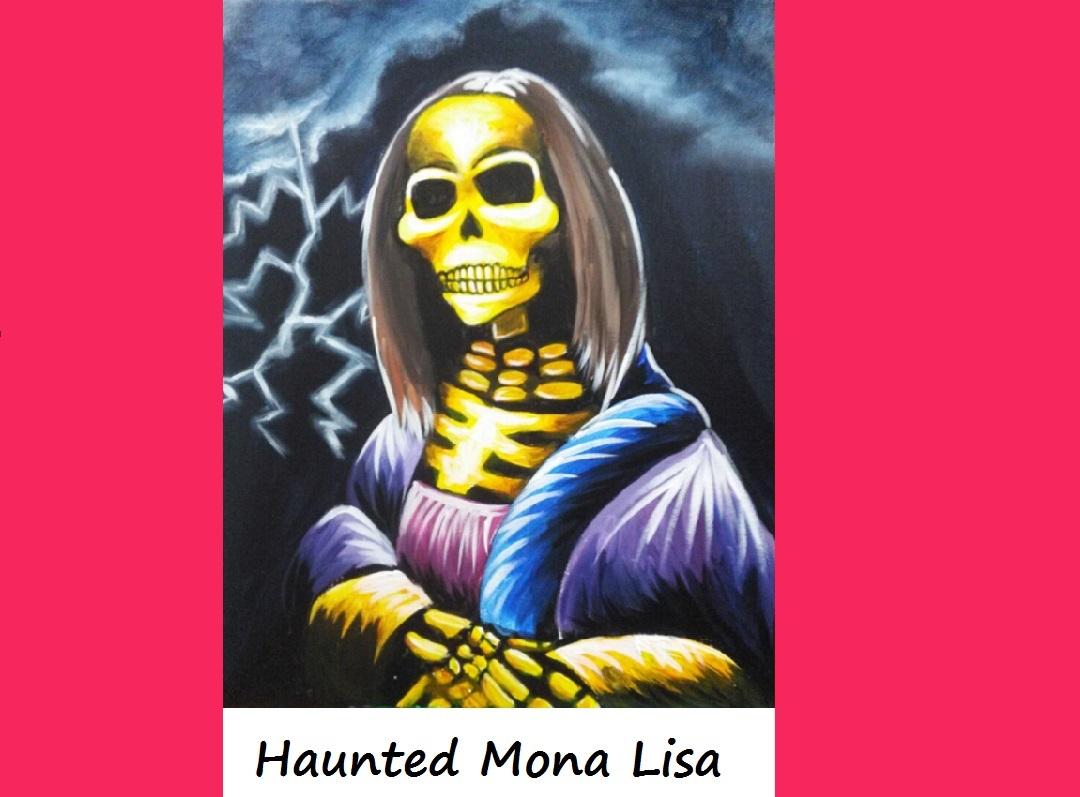 "Halloween Special ""Haunted Mona Lisa"""