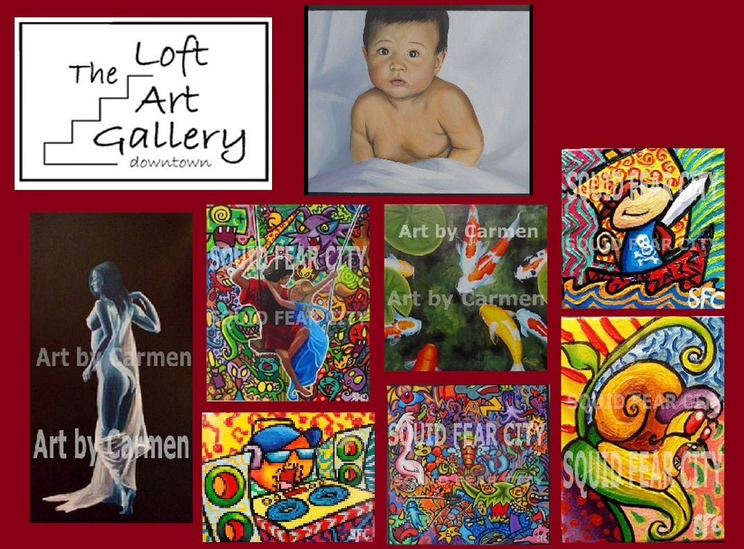 Get A Commisson or shop our Online Gallery Today