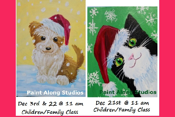 Pet Holiday Children/Family Classes Check our Calendar to Sign-up